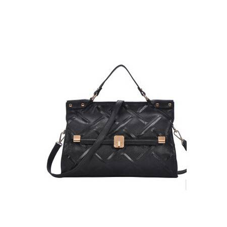 欧美时尚真皮女包菱格定型女包单肩包斜挎手提包源自欧美设计师 时尚包邮