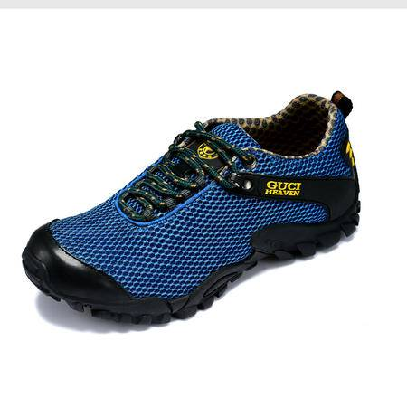 古奇天伦 运动休闲鞋透气鞋夏季男鞋耐磨减震网布鞋网面鞋板鞋