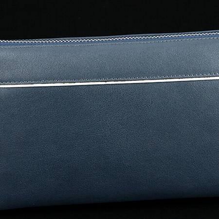 男士真皮手包软皮男士夹包2015商务休闲大容量手腕包正品