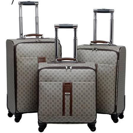 商务拉杆箱万向轮 男女时尚休闲登机箱复古防水行李箱包