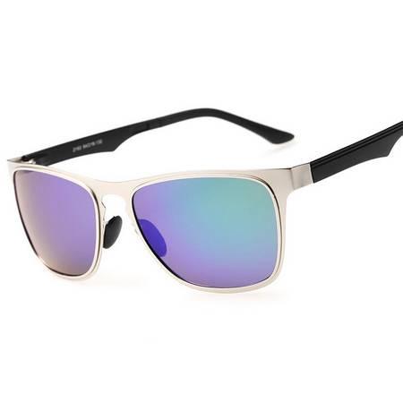 2015男女新款偏光太阳眼镜经典复古眼镜不锈钢超弹墨镜
