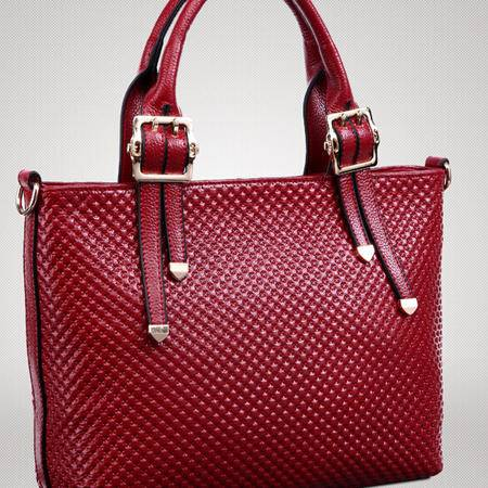 2015新款真皮女包欧美简约时尚经典女士手提斜挎包包