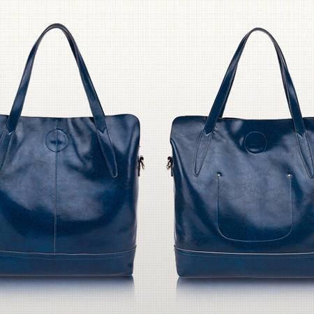 2015秋季新款女包包中包欧美简约大气女包单肩斜跨真皮子