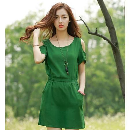 2015夏装女装正品新款修身显瘦气质甜美连衣裙
