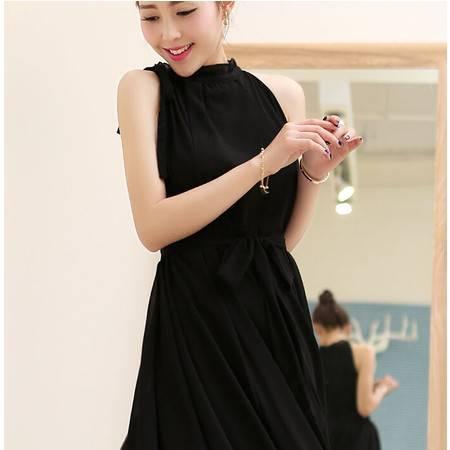2015夏装显瘦气质甜美女装正品新款修身连衣裙