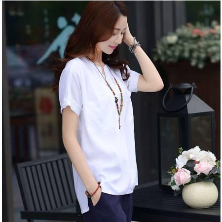 2015夏装女装正品新款修身显瘦气质甜美韩版衬衫