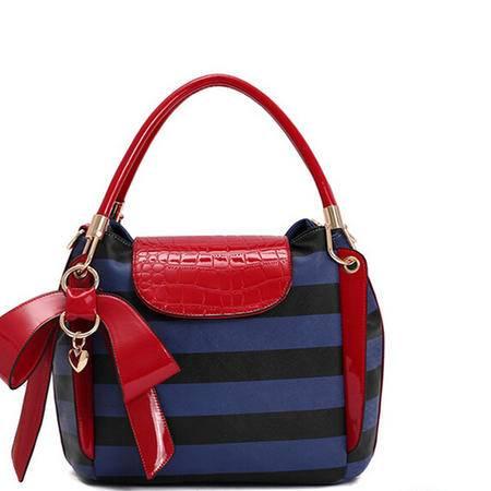 2015韩版时尚撞色休闲品牌女包潮包春季新款女士手提包包