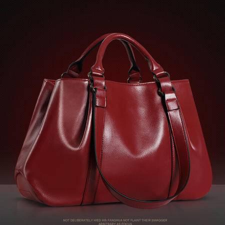 2015欧美潮手提包时尚双重手提带单肩斜跨包女士包包