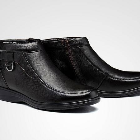 2015富贵鸟棉靴男士高帮靴加绒男鞋雪地棉鞋保暖休闲皮鞋爸爸鞋子