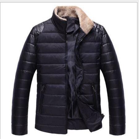 2015冬装新款男士棉衣韩版修身加厚立领棉服外套男装棉袄