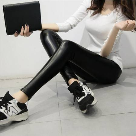 2016女士小脚裤紧身弹力打底裤冬季新款加绒长裤正品