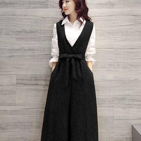 2016春装显瘦气质甜美女装正品新款修身连体裤