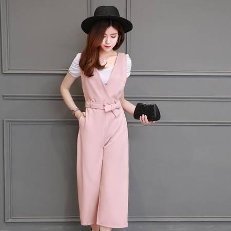 2016春装显瘦气质甜美女装正品新款女士修身套装套裙