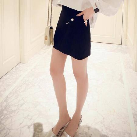 2016春装显瘦气质甜美女装正品新款修身半身裙