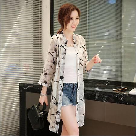2016春装新款气质质优优雅学生衬衫长袖花边木耳打底底衬