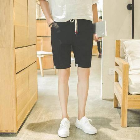 2016夏季新品棉麻休闲短裤麻料日系清凉潮流五分裤沙滩休闲裤