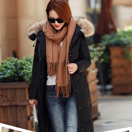WZSY 气质时尚2016年冬季羽绒服纯色保暖显瘦韩版