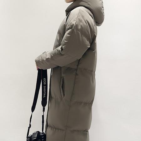 WZSY 优雅时尚棉衣/棉服2016年冬季长袖加厚纯色连帽拉链