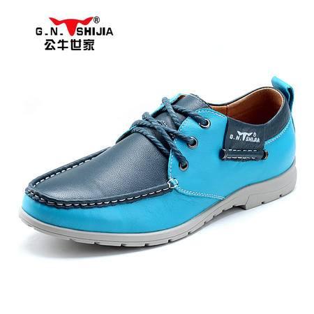 公牛世家新款男鞋男士休闲鞋英伦潮流板鞋时尚驾车鞋低帮鞋888043