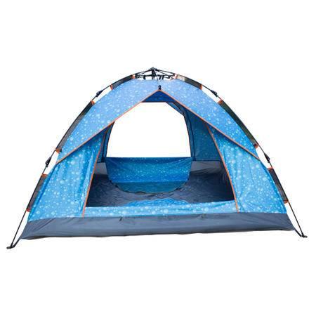创悦 2-3人伞式双门双层速开帐篷CY-5908公园野营旅行登山帐篷【帐篷】