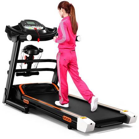 创悦 多功能电动跑步机 CY-9087健身跑步踏步走步机家用(送健身三件套)