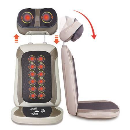 朗康按摩器 颈椎按摩按摩靠垫颈部 腰部肩部按摩垫 LK-8616