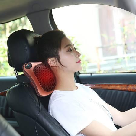 朗康按摩器 颈椎按摩枕 颈部腰部肩部按摩垫LK-8055 家车两用【扫码】