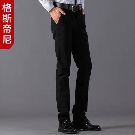 格斯帝尼2016秋冬新款男士休闲裤直筒修身男长裤3236#