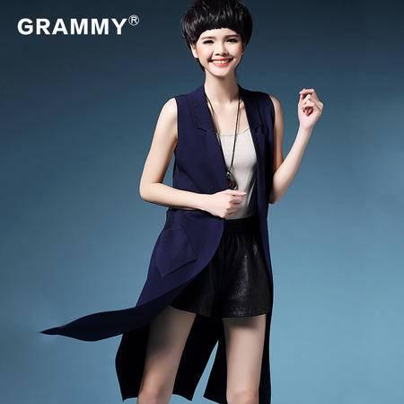 格莱美2016春装针织开衫韩版显瘦修身女针织外套G19025