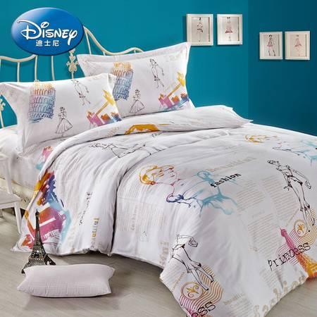 迪士尼/Disney米奇欧洲风尚公主四件套220x240