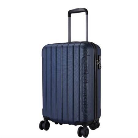 外交官 行李箱男女旅行箱 ABS万向轮拉杆箱密码箱 24寸