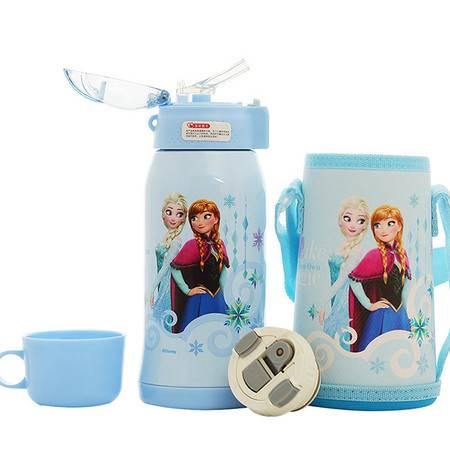 迪士尼/DISNEY 不锈钢喝水杯男女学生防漏水壶保温杯 DZ-8055