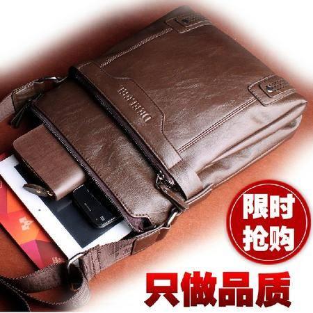 全牛皮男皮包真皮斜挎包商务男包休闲 男式背包包电脑包TSH011