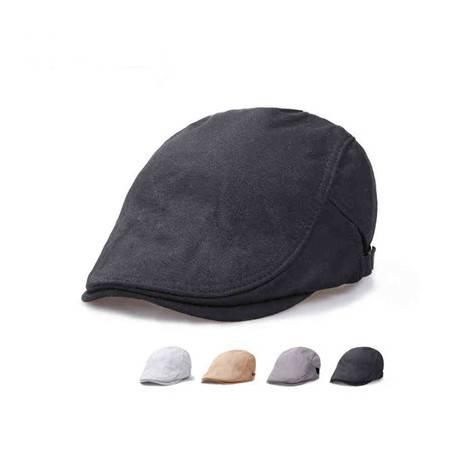 纳川 新款韩版春夏复古男士鸭舌帽贝雷帽子 NA299