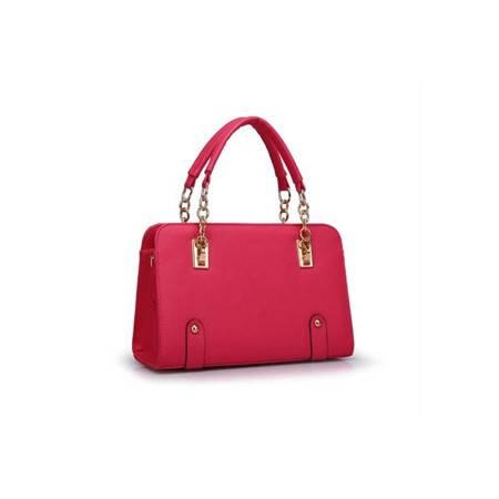 积卡逊 欧美时尚糖果色新款单肩斜跨手提白领定型女包GC-1016