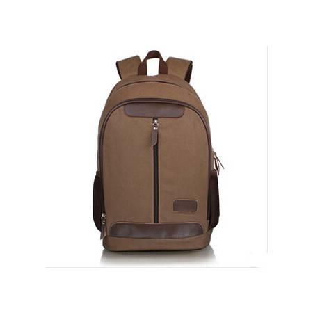 积卡逊 新款男帆布双肩包 运动登山包学生书包电脑旅行背包韩版学院风GC-90