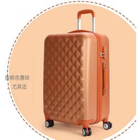 拉杆箱可爱登机箱万向轮旅行箱密码箱子24寸韩国行李箱女mc172