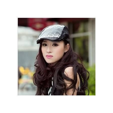 柏妃 韩版女士鸭舌贝雷帽子 B22