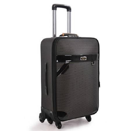 旅行箱学生行李箱女密码箱子皮箱拉杆箱万向轮牛津布男拖箱24寸mc179