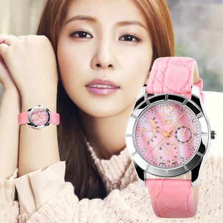柏妃 潮流时尚女士石英复古手表 B43