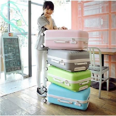 日韩旅行箱包拉杆箱登机箱飞机大轮行李箱皮箱子万向轮男女潮20寸mc186