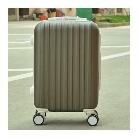 日韩旅行箱包拉杆箱登机箱飞机大轮行李箱皮箱子万向轮男女潮26寸mc188