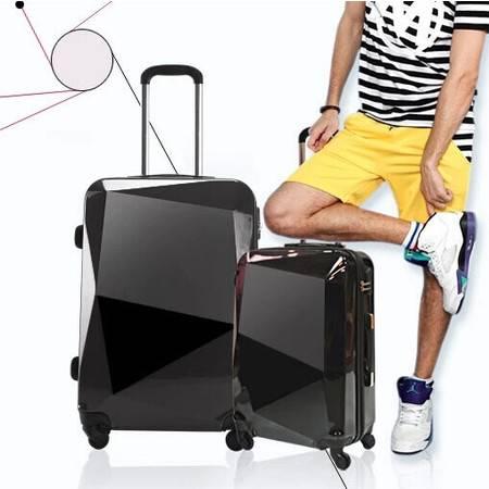 高端产品好质量旅行箱子拉杆箱24寸万向轮行李箱男女士潮密码登机箱包mc196