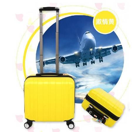 登机箱18寸旅游小拉杆箱旅行箱包行李箱子万向轮男女款皮箱密码箱mc200