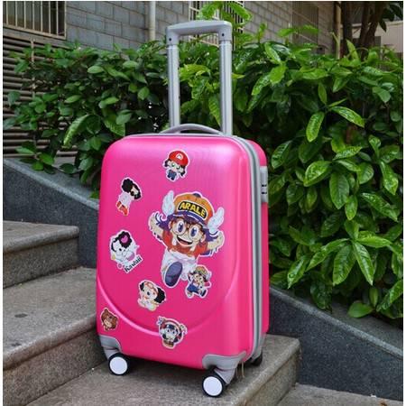 韩国行李箱拉杆箱8轮万向轮旅行箱 密码箱行李箱包男女登机箱皮箱24寸mc202