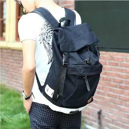 新款中学生书包 帆布双肩包女包 男包包 韩版潮包旅行背包电脑包mc217