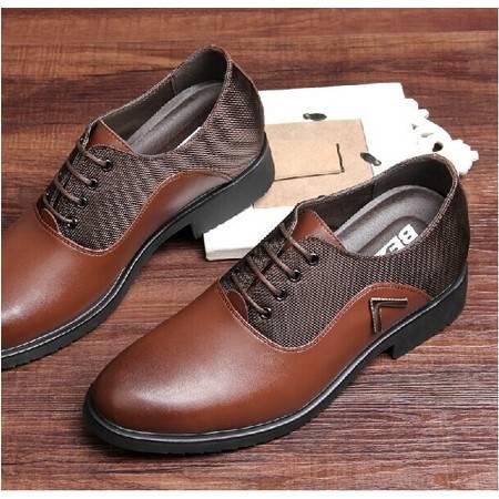 包邮男式增高鞋8cm牛皮男士正装商务皮鞋休闲鞋男士英伦皮鞋真皮透气TSH057