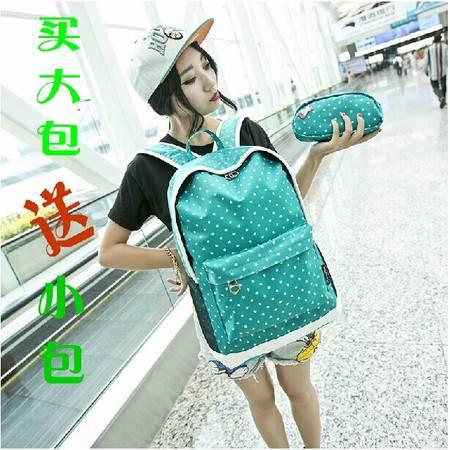 新款小清新学生书包女生韩版学院风双肩包电脑包休闲背包ody156