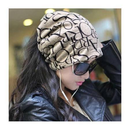 柏妃 时尚女士薄款套头帽包头帽子 B63