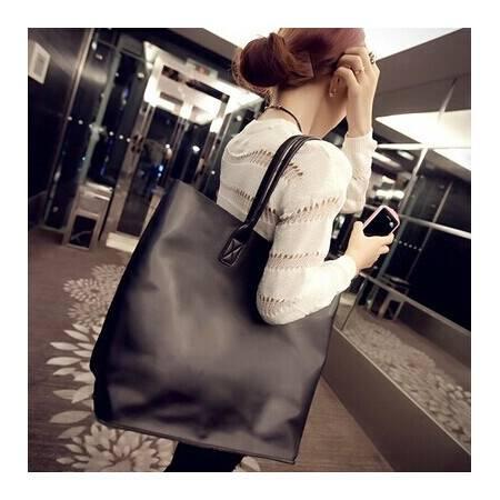 包包秋季新款黑色女包大包时尚单肩包斜挎包子母包中包女包包ody162